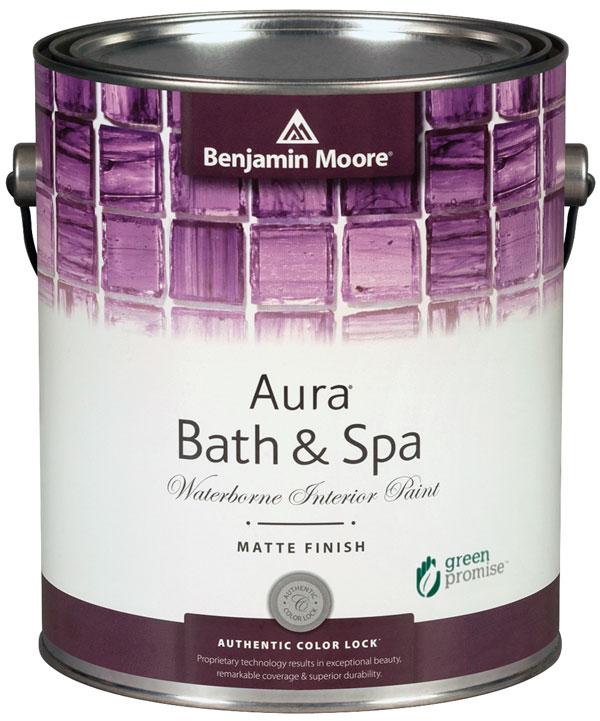 Aura Bath & Spa Waterborne Interior Paint - Matte Finish (532)