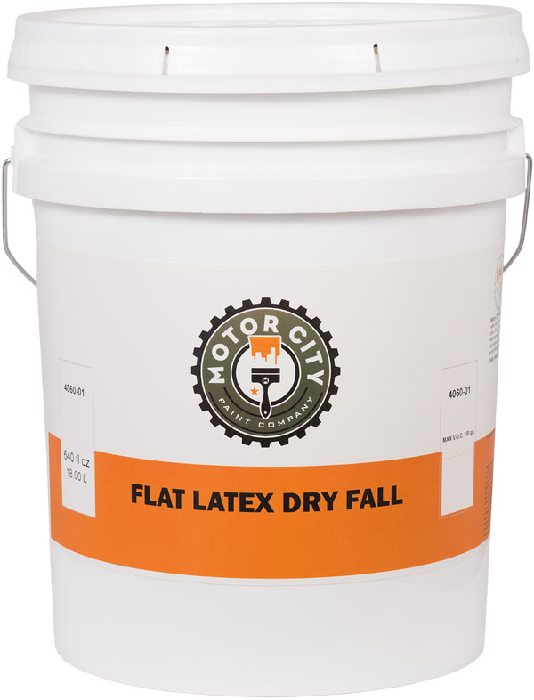Flat Latex Dry Fall